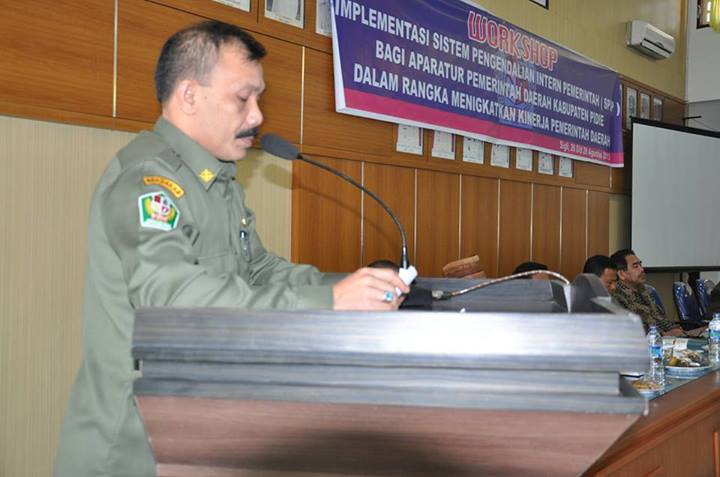 Bupati Pidie Buka Workshop Spip